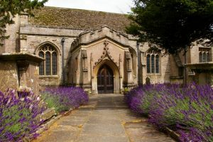 Lavender and South Door St Laurence Hilmarton