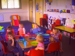 Toddler Group in the Community Room Hilmarton