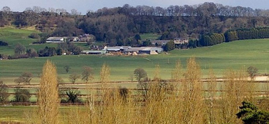 Countryside Farm scene from Hilmarton Parish