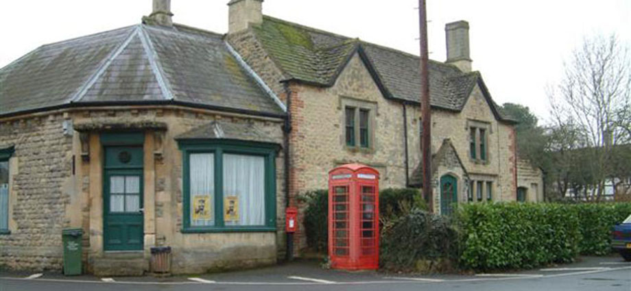 Photograph of the old Hilmarton Post Office